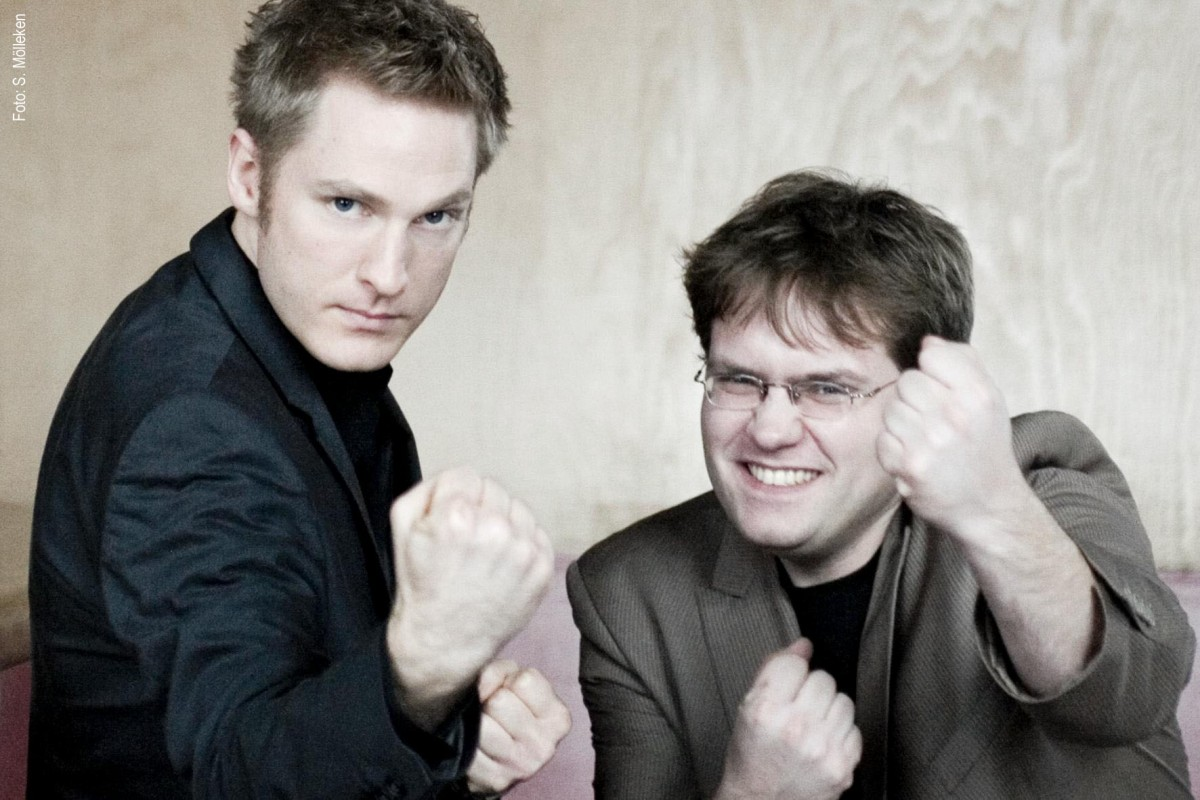 """Benjamin Eisenberg & Matthias Reuter """"KABARETT im Doppelpack"""""""
