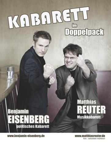 Benjamin Eisenberg & Matthias Reuter – KABARETT im Doppelpack